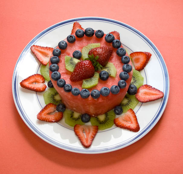 Fresh Fruit Cake Robin Robertson