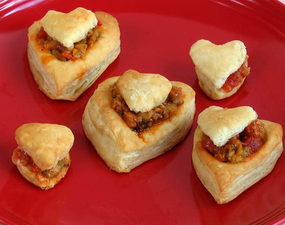 easy valentine appetizer and dessert and a cookbook winner - Valentines Day Appetizers